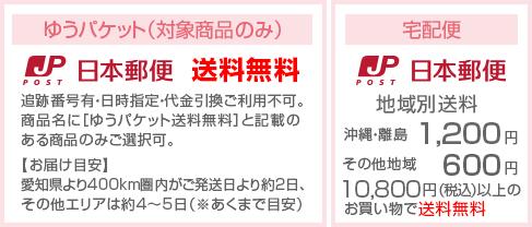 送料 600円 沖縄・離島1,200円 10,800円以上のお買い物で送料無料